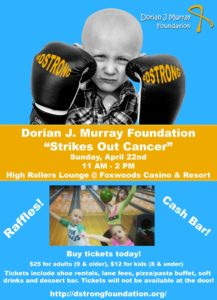 Strike Out Cancer Bowling Event! @ High Rollers | Ledyard | Connecticut | United States