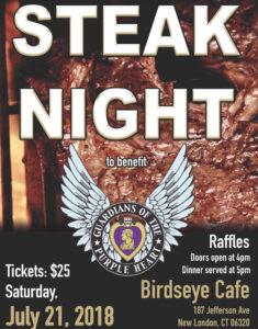 Steak Night @ Birdseye Cafe | New London | Connecticut | United States
